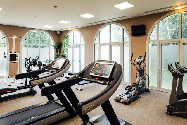 بالإمكان متابعة برنامجك الرياضي في فندق دريم كاسل ديزني لاند باريس