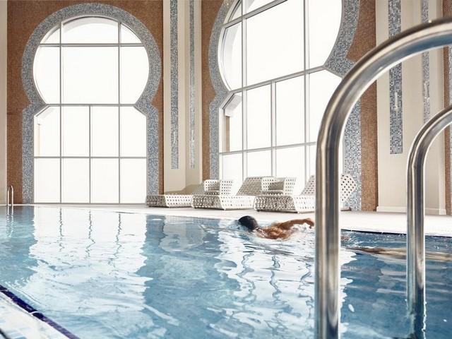 حمام سباحة مميز من منتجعات شرق الرياض الجميلة