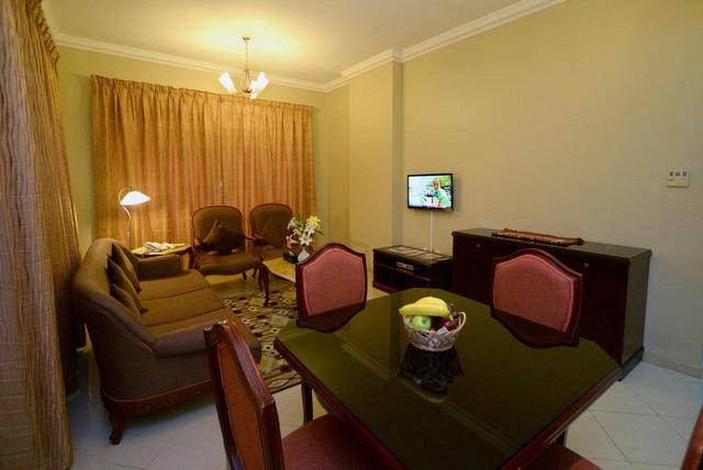 فندق نجوم الامارات للشقق الفندقية الشارقة يقدم عدد من المرافق داخل الغرف التي يحتاجها النُزلاء