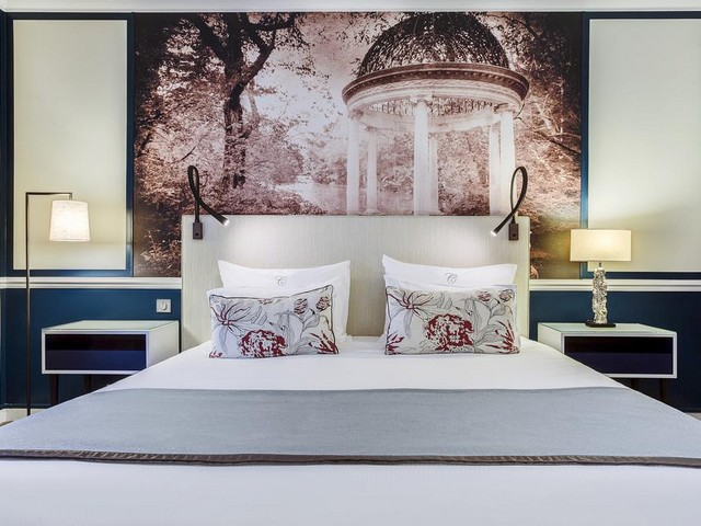 جمال الغرف الداخليه لـ فندق فريزر سويتس باريس في العاصمة الباريسية.