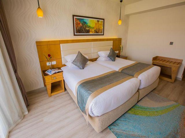 اكوا بلو شرم الشيخ يمتلك موقع مُميز جعلته الخيار الأمثل بين فنادق الهضبة شرم الشيخ