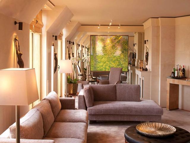 حداثة التصميم و تميزه في مرافق فندق بارك حياة باريس