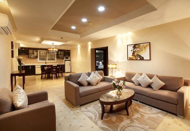 واحدة من افخم شقق فندقيه في قرطبه الرياض من حيث الديكورات الأنيقة للشقق والخدمة المميزة