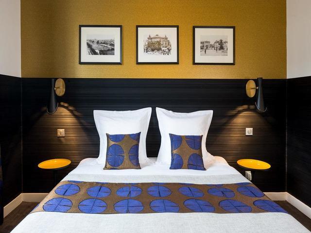 تصميم أنيق لغرف مميزة في فندق فكتوريا باريس