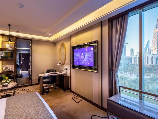 إطلالات رائعة من الغرف في الفنادق القريبة من مدينة الملك فهد الطبية بالرياض