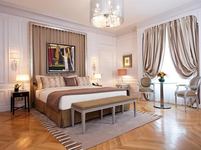 الغرف الكبيرة والرائعة في فندق ماجستيك باريس