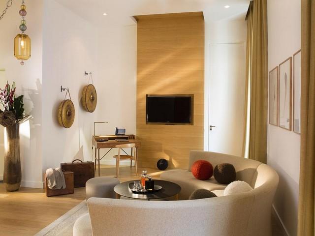 تحتوي غُرف مارينيون شانزليزيه على أحدث أنواع التجهيزات وأفخم الأثاث