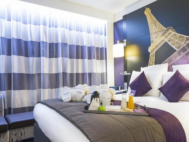 يضم فندق ميركيور شانزليزيه باريس أماكن إقامة تتميز بالرقي والفخامة