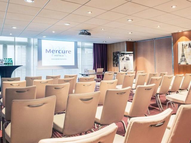 يحتوي فندق ميركيور شانزليزيه باريس على قاعات اجتماعات فسيحة وراقية