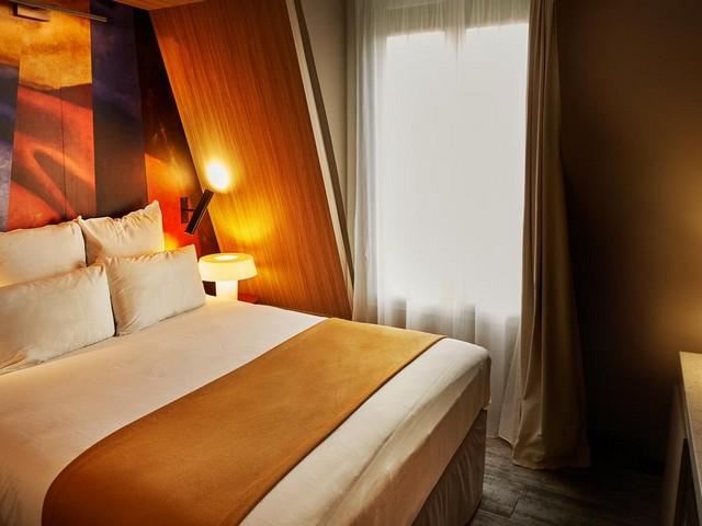جمال التصاميم الداخلية في سلسلة فنادق ميركور باريس