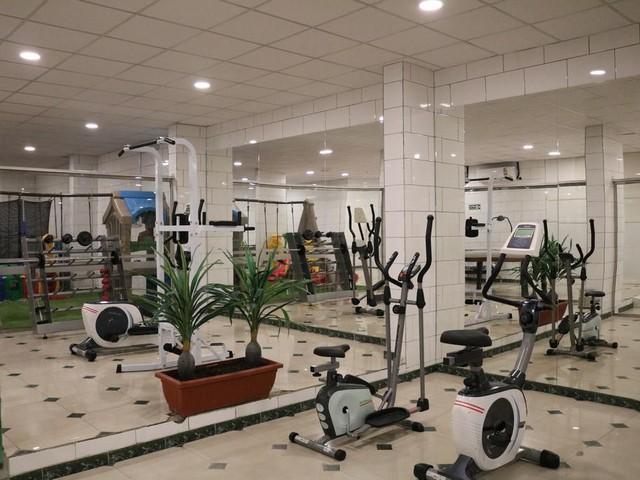 مركز اللياقة البدنية في فندق رمز الفخامه بالطائف أحد أفخم الفنادق في الطائف