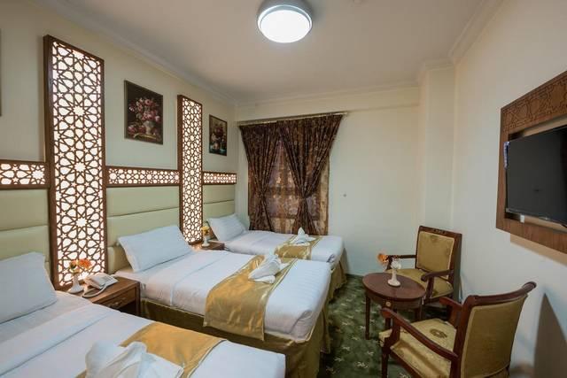 فندق روضة مبارك يتميّز بالرقي والفخامة والغرف ذات التجهيزات العصرية