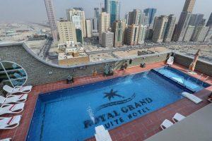 فندق رويال جراند الشارقة المصنف 4 نجوم عنوان للرقي