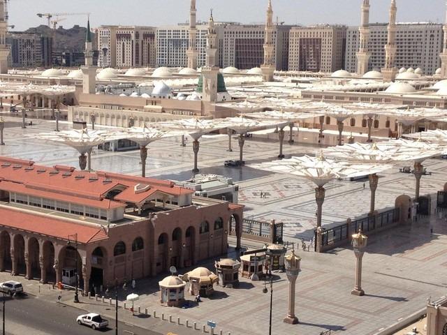 يقع فندق سرايا طابة في المدينة المنورة بالقُرب من الحرم النبوي.