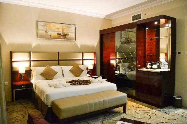 فندق السلام جراند الشارقة يمتلك موقع مُميز جعلته الخيار الأمثل بين فنادق 4 نجوم في الشارقة