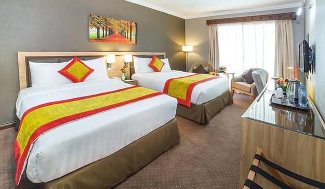 يُعد  فندق هوليداي انترناشيونال الشارقة من الخيارات المُثلى بين فنادق الشارقة