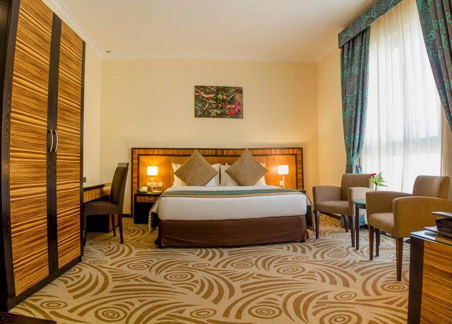 غرف عصرية راقية توفرها شقق فندقية الشارقة المجاز