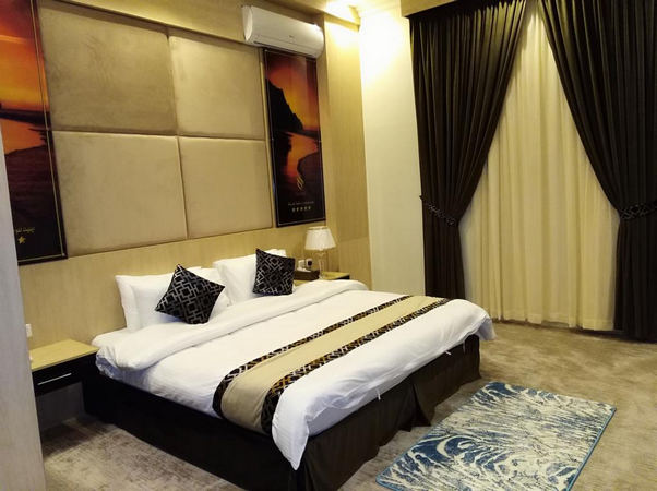 أجمل الغُرف في اروع فندق في العزيزيه الرياض