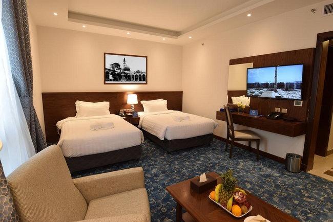 غُرف عائلية واسعة وشاملة المرافق في فنادق شارع السلام المدينة المنورة