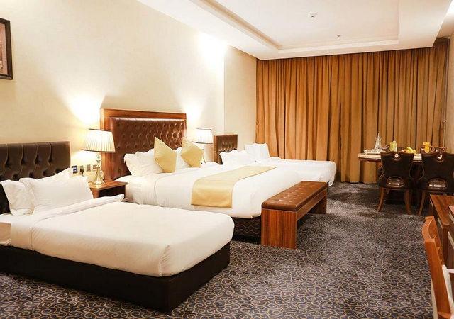 فندق كرم من الفنادق الرائعة التي تضّم غُرف عائلية جميلة وراقية