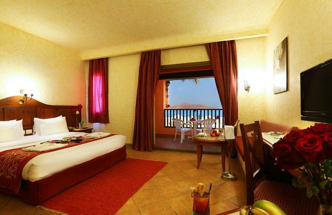غُرف جميلة وأنيقة في فنادق شرم الشيخ ٤ نجوم