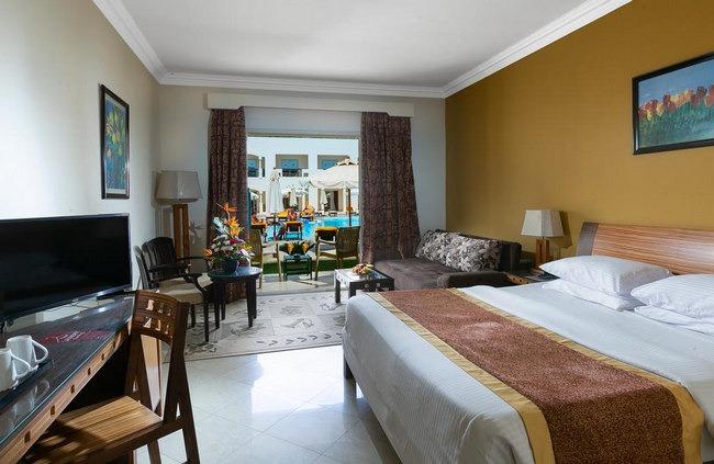 غُرف واسعة كاملة المرافق في فنادق 4 نجوم فى شرم الشيخ