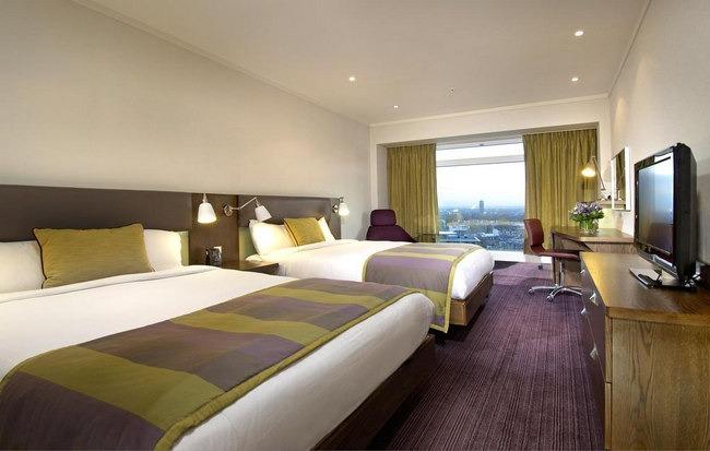 غُرف عائلية رائعة في افضل فنادق لندن شارع العرب
