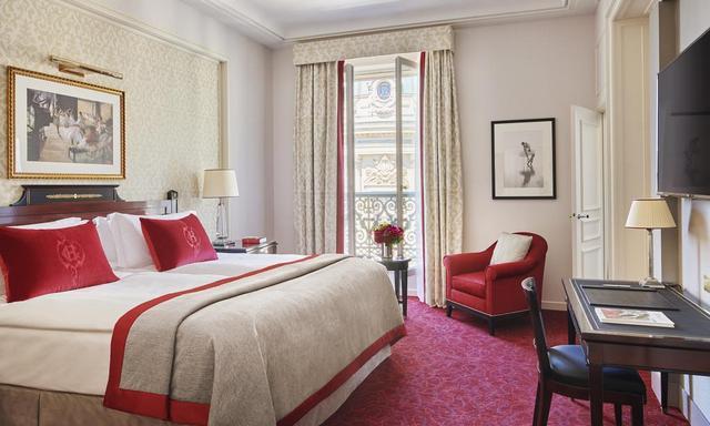 إنتركونتيننتال باريس لو غران فندق باريس وسط البلد بإطلالة رائعة على قصر غارنييه الشهير