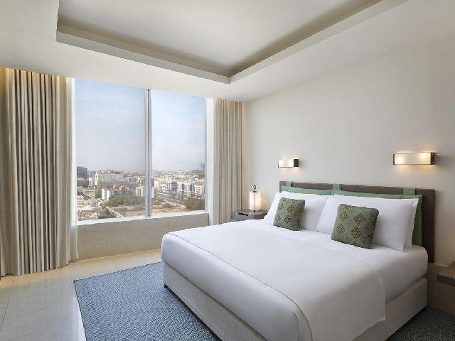 إطلالة فندق أصيلة لوجري كولكشن هوتيل جدة الرائعة أحد أفضل منتجعات جده بمسابح خاصه