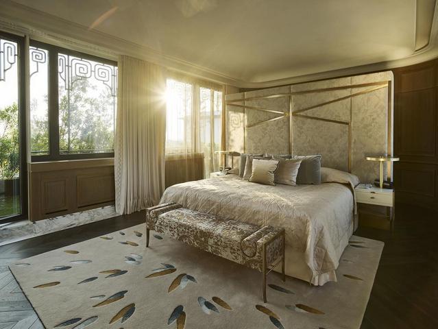 فنادق وسط باريس -  فندي لو موريس دورشستر غرف مزينة على طراز لويس السادس