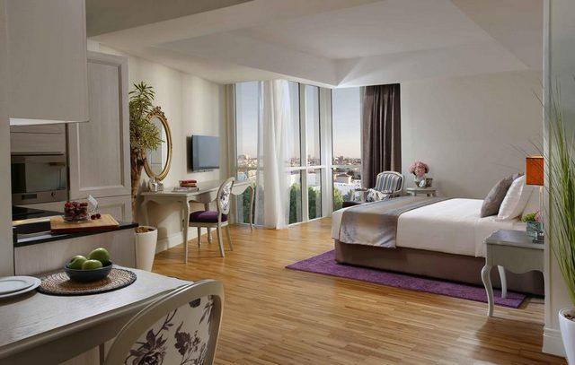 أسكوت صاري جدة هو أحد فنادق سلسلة أسكوت جدة المعروفة يقدّم افخم شقق فندقيه بجده