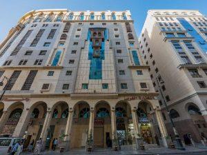 مظهر فندق المختارة الغربي من الخارج