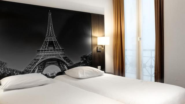 فندق فيكتوريا باريس من افضل فنادق باريس وسط البلد يقع في منطقة حيوية