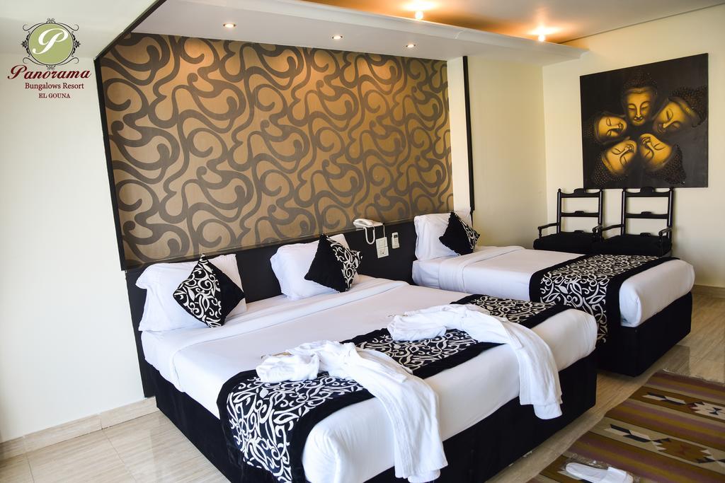 يقدم فندق بانوراما بانجلوس الجونة الغردقة غرفاً وأجنحة متعددة بإطلالات مميزة