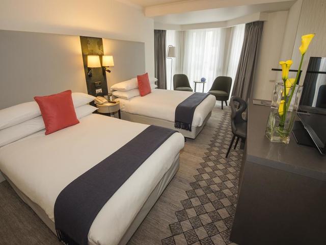 تتوفر العديد من خيارات غرف الإقامة في فندق كراون بلازا لندن كنسينغتون.