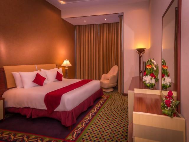 الغرف في فندق اليت جراند البحرين