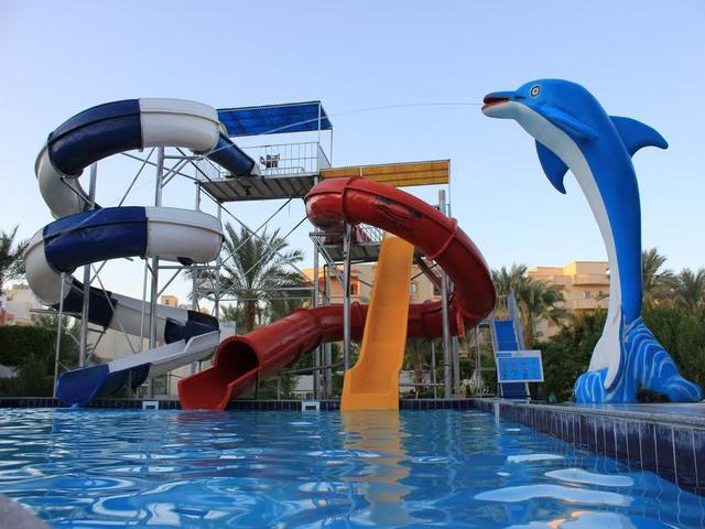 استمتع بالألعاب المائية المميزة في فندق سانت ماريا الغردقة