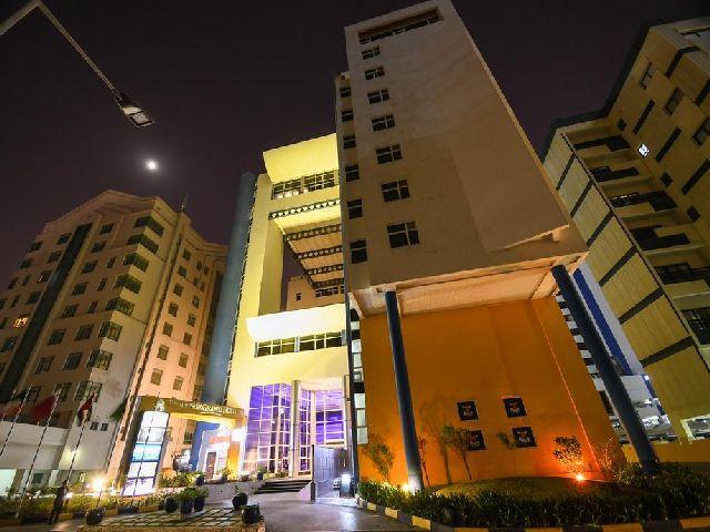 الإطلالة الخارجية في فندق الجفير جراند الشهير