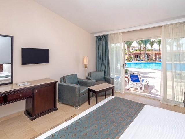 يوفر فندق هاواي لو جاردن الغردقه أماكن إقامة بمساحات فسيحة