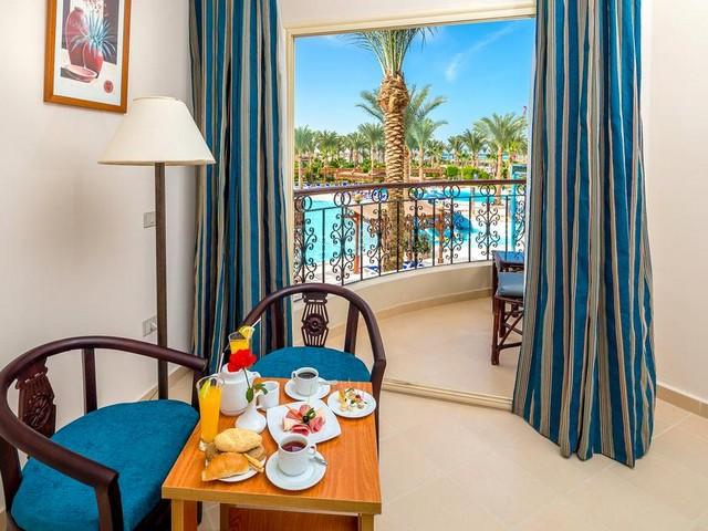 يوفر فندق هاواي لو جاردان اكوا بارك الغردقة أماكن إقامة بإطلالات مميزة