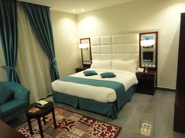 تتميّز غرف صفوة الأمل بألوانها الزاهية مما جعلها تتصدر قائمة شقق فندقيه جده حي الصفا