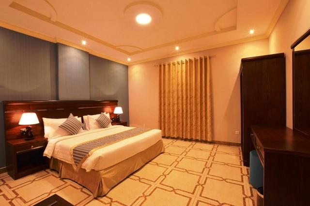 تتميّز غرف احنحة لافونتين واحدة من أفخم شقق فندقيه جده حي الصفا بالمساحات الواسعة