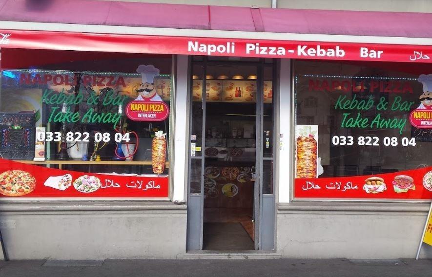 مطعم نابولي احد افضل مطاعم عربية في انترلاكن