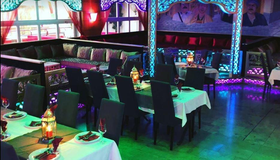 مطعم باب الحارة من افضل مطاعم عربية في انترلاكن