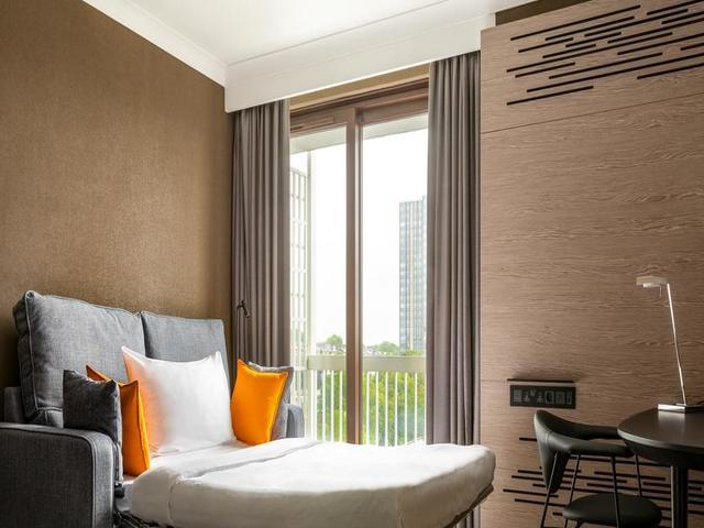 تتوفر خيارات عديدةمن غرف الإقامة في فندق ماريوت لندن ريجنت بارك