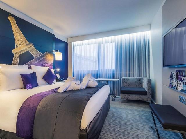 جمال الغرف وأناقتها من فندق ميركور باريس المميز أمام برج ايفل