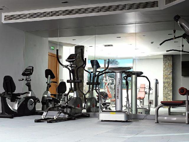 من الرائع المحافظة على ممارسة الرياضة في فندق المشعل البحرين