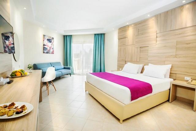 تتميز الغرف التي يوفرها فندق صن ست الغردقة بتصاميمها الفاخرة