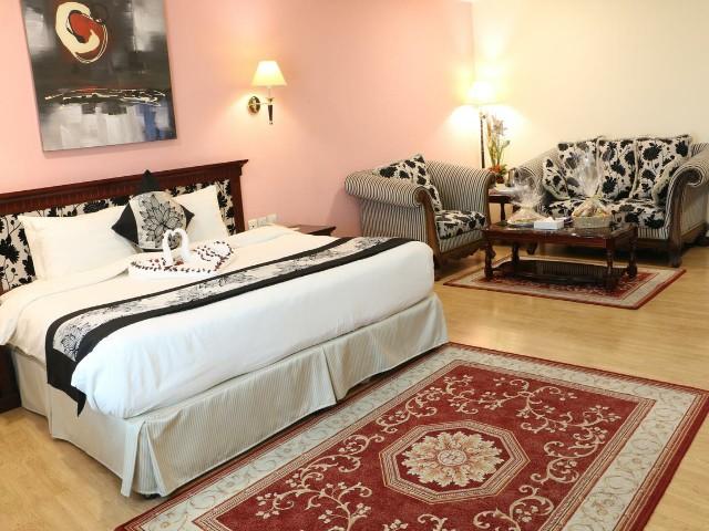غرف الإقامة المميزة في فندق بارس بالبحرين