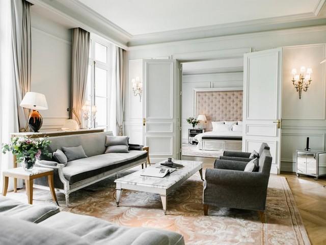 جمال التصاميم وقطع الأثاث من فندق رافلز باريس الرائع